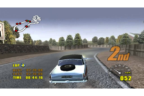 Old game - Classic British Motor Racing ( Race 2 ) - YouTube