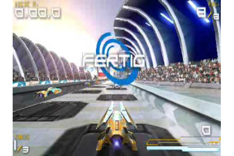PSP Wipeout Pure Gameplay - YouTube