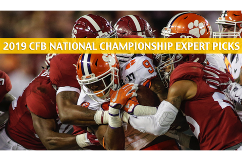 College Football National Championship Expert Picks ...