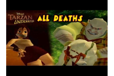 Tarzan Untamed All Boss Fails | Deaths | Game Over (PS2 ...