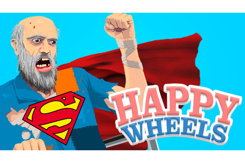 VIREI O SUPER HOMEM - HAPPY WHEELS - YouTube