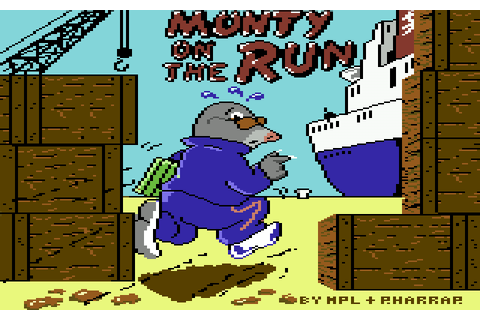 Monty on the Run The complete World Map / Gamemap (C64)