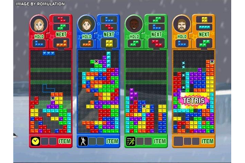 Tetris Party Deluxe (USA) Nintendo Wii ISO Download ...