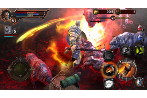 Blood Warrior: RED EDITION android game first look ...