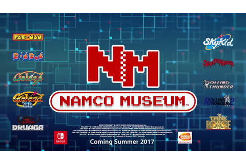 NAMCO MUSEUM - Announcement Trailer | Nintendo Switch ...