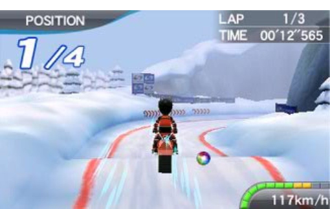 Deca Sports Extreme (3DS) Screenshots