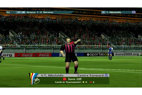 UEFA Euro 2000 (PC) | Walkthrough & Gameplay | Full HD ...