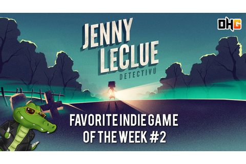 Jenny LeClue Detectivu Playable Teaser (Review) - Favorite ...