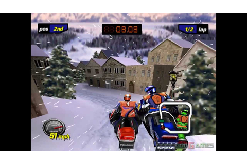 Polaris SnoCross - Gameplay PSX / PS1 / PS One / HD 720P ...