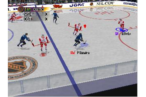 NHL Blades of Steel '99 Nintendo 64 Game