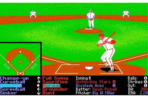 Hardball 2 Download (1990 Amiga Game)