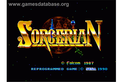 Sorcerian - Sega Genesis - Games Database