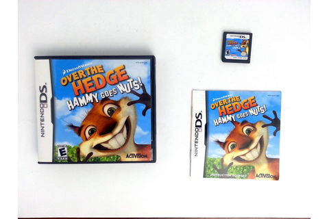 Over the Hedge Hammy Goes Nuts game for Nintendo DS ...
