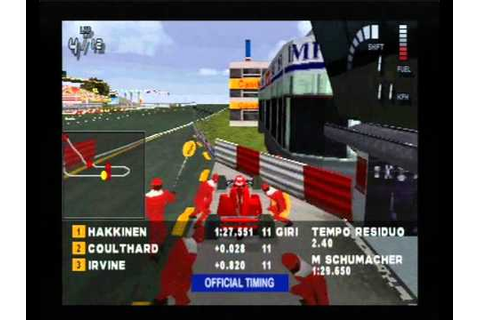"""Planet One"" Series Gameplay #2: Formula 1 '98 - YouTube"