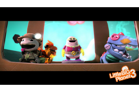 LittleBigPlanet 3 plushie packaging and space suit DLC ...