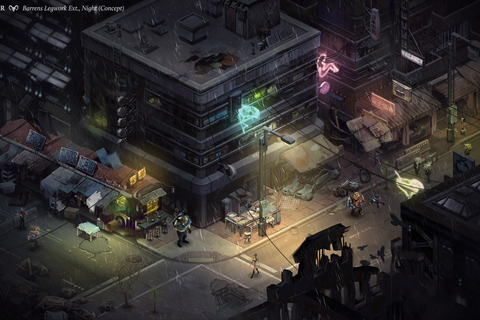 'Shadowrun Returns' first images show off isometric view ...
