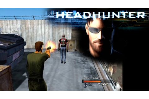 Headhunter ... (PS2) - YouTube