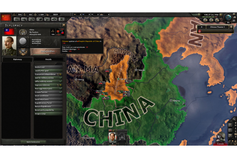Hearts of Iron IV Will Improve China, Create Roadblock for ...