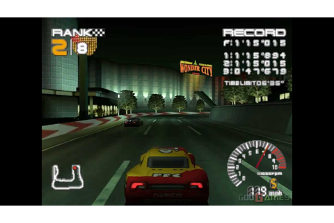 R4: Ridge Racer Type 4 - Gameplay PSX / PS1 / PS One / HD ...