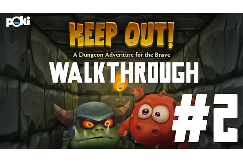 Demons Everywhere! Keep Out Game Walkthrough 02, Levels 6 ...