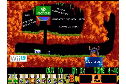 Lemmings - XBOX One / PS4 - Gameplay Reveal - YouTube