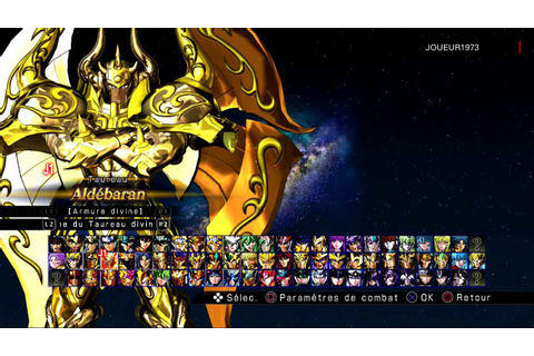 Saint Seiya Soldiers Soul All Characters - YouTube