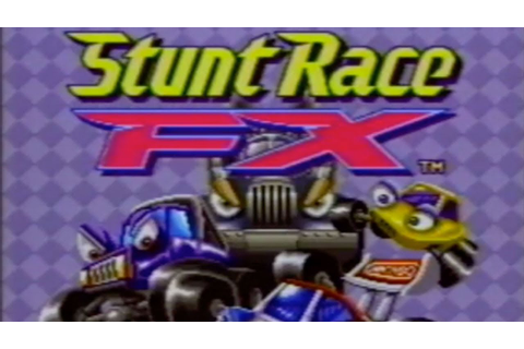 Stunt Race FX SNES Commercial - Retro Game Trailers - YouTube
