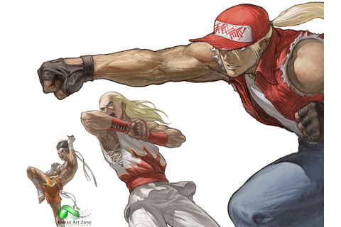 Fatal Fury, official by SNK | 2D | King of fighters, Art ...