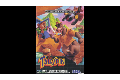 Disney's TaleSpin Complete Playthrough. Sega Mega Drive ...