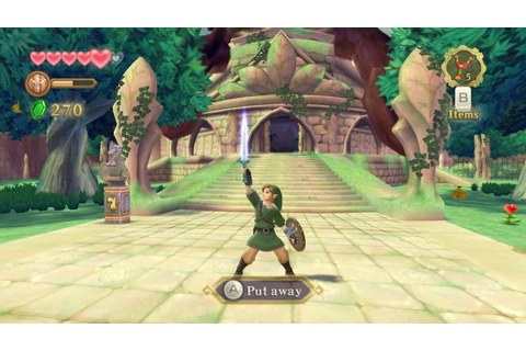 The Legend Of Zelda Skyward Sword Gameplay Screenshot 3 ...