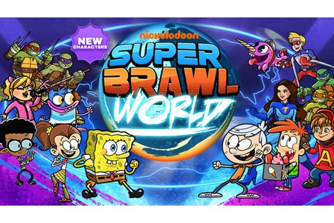 Nickelodeon Super Brawl World Action Game