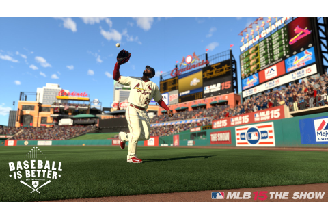 MLB 15 The Show (PS Vita / PlayStation Vita) Game Profile ...