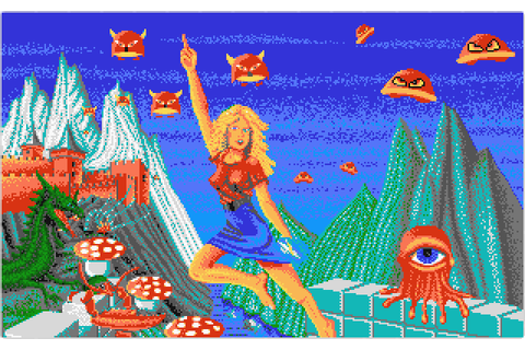 The Great Giana Sisters (1988) by Time Warp Atari ST game