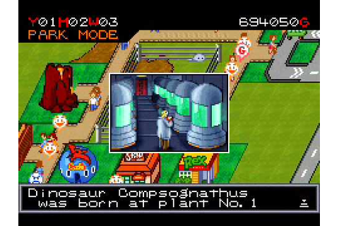 Jurassic Park III: Park Builder (gameplay) [GBA] - YouTube