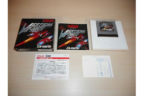 Vertical Force Complete Virtual Boy CIB Nintendo Japan ...