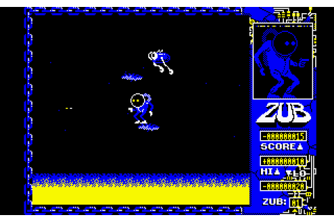 Zub (1986) by Binary Design Amstrad CPC game