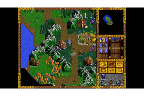 DOS Game: Heroes of Might and Magic - YouTube