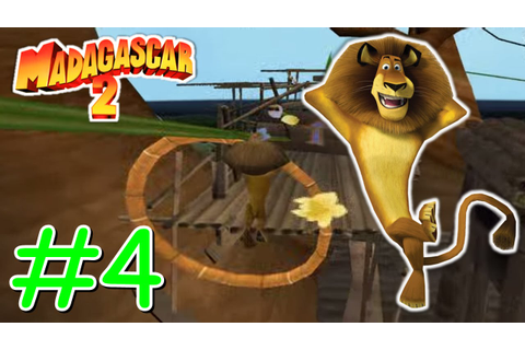 MADAGASCAR 2 VIDEO GAME #4 Lançamento do Avião - YouTube