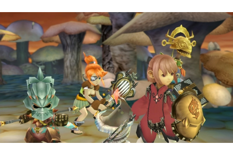 Final Fantasy Crystal Chronicles Remastered Edition TGS ...
