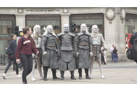 White Walkers hit London as Game of Thrones returns - YouTube