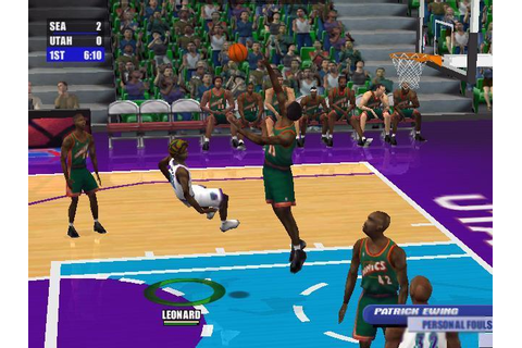 NBA Live 2001 Download (2001 Sports Game)