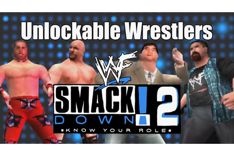 WWF SmackDown! 2 - Hidden Unlockable Wrestlers - YouTube