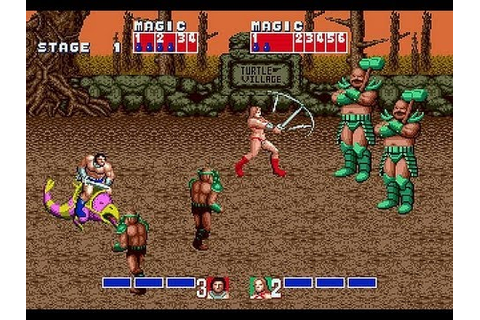Golden Axe (1989) PC Games Playthrough - YouTube