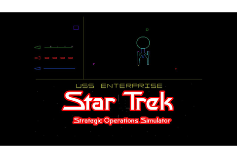 Star Trek: Strategic Operations Simulator - Star Trek ...
