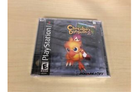 Chocobo's Dungeon 2 II Brand New Factory Sealed ...