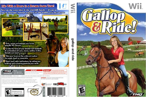 Covers Movie Gtba: Gallop And Ride - Capa Game Wii
