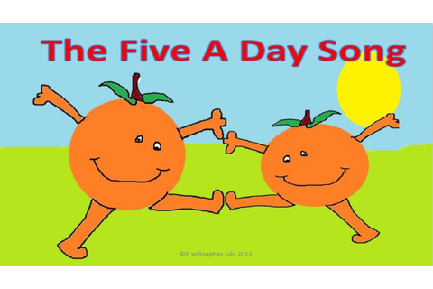 The 5 a day song - YouTube