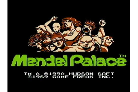 Mendel Palace - NES Gameplay - YouTube