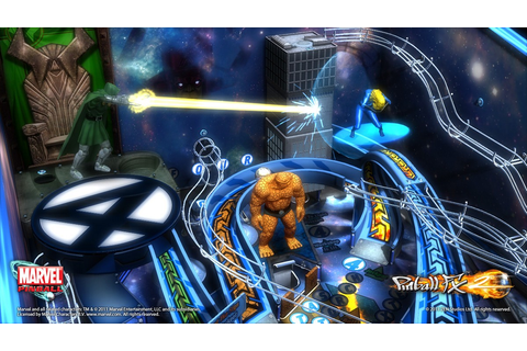 Marvel Pinball: Fantastic Four – PS3 Review – Brash Games
