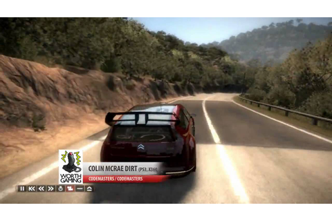 Colin McRae DiRT Gameplay PC [HD] - YouTube
